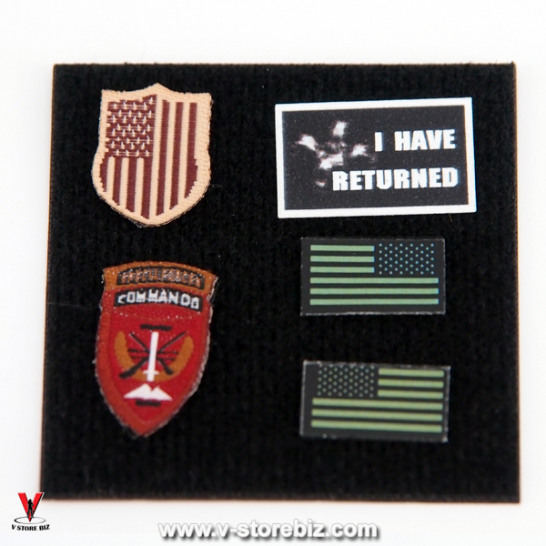E&S 26011 Army SFG Veteran Dragoon Patches & Accessories
