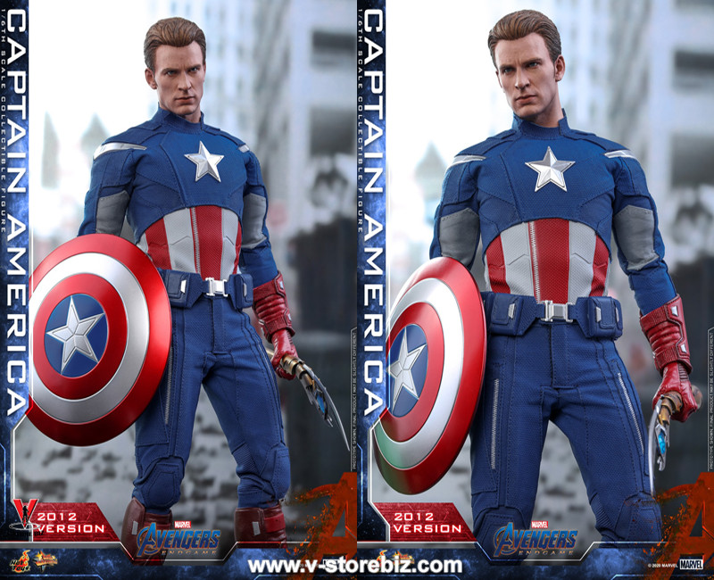 Hot Toys MMS563 Avengers: Endgame Captain America (2012 Version)