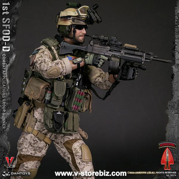 DAM 78074 1st SFOD-D Combat Applications Group Gunner