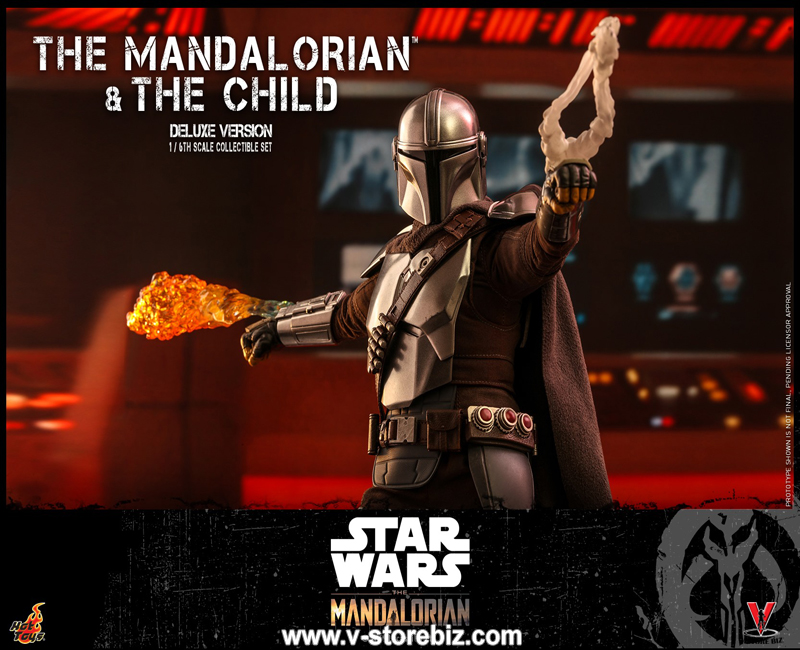 Hot Toys TMS015 The Mandalorian and The Child Collectible Set (Deluxe Version)