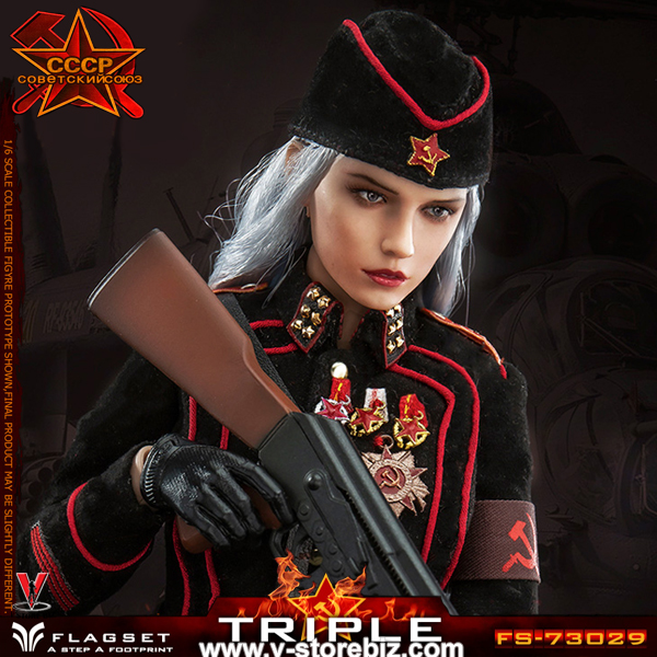 Flagset 73029 Red Alert Soviet Female Officer Katyusha