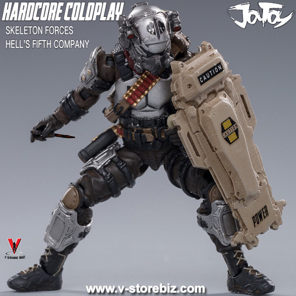 JOYTOY 1/18 Skeleton Forces Hell's Fifth Company