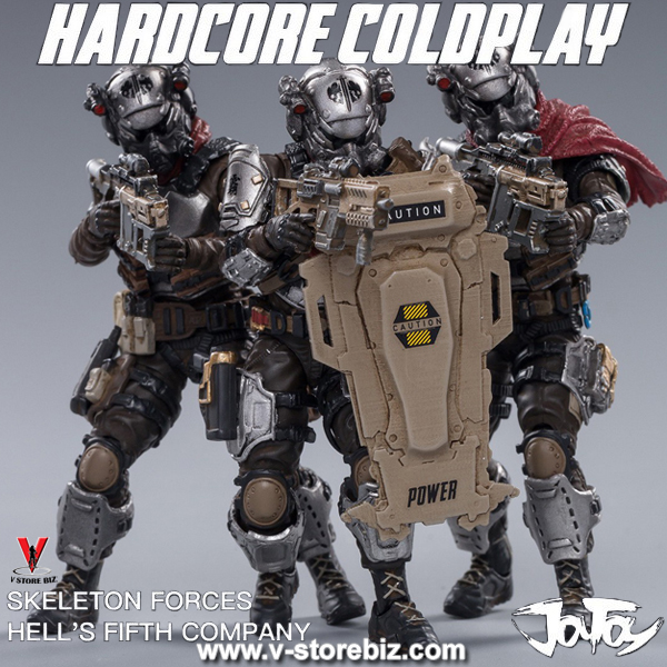 Joy Toy 1/18 Skeleton Forces Hell's Fifth Company