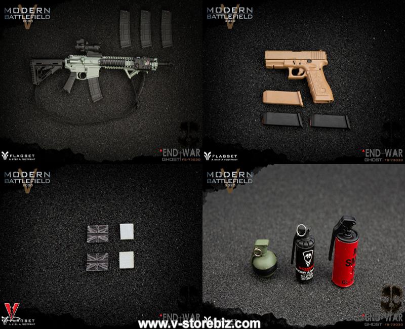 Flagset FS-73030 Modern Battlefield : End War - Ghost