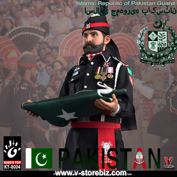 "KING/'S TOY 1//6 KT-8004 Islamic Republic of Pakistan Guard 12/"" Action Figure Doll"