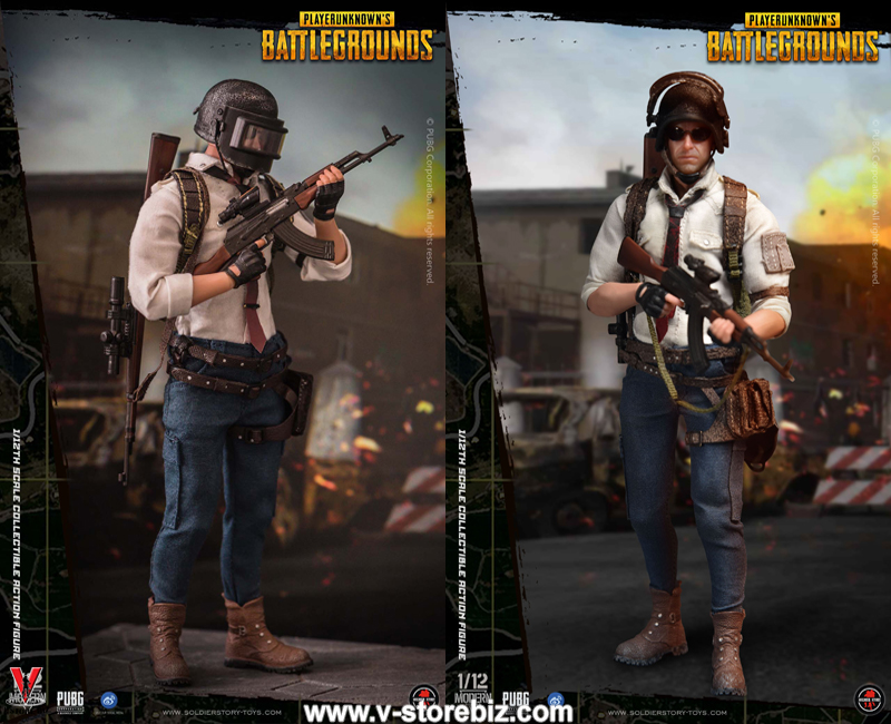 Pre-order 1//12 SoldierStory PUBG Battlegrounds SSG-001 Action Figure