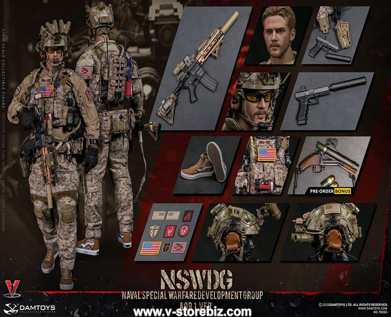DAM 78065 NSWDG Naval Special Warfare Development Group AOR1 Version
