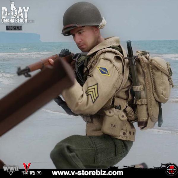 Soldier Story SSM-005 WWII US 2nd Ranger Battalion Sergeant (Figure Only)
