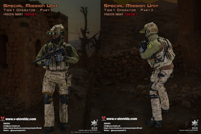 E&S 26030C Special Mission Unit Part X Frozen Night Assault