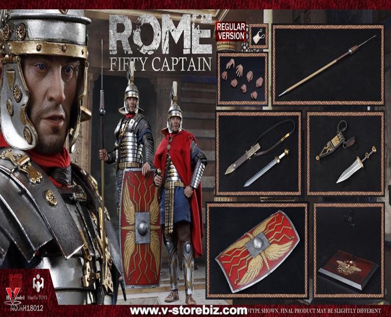 HHmodel & HaoYuToys HH18012 Empire Corps Captain Fifty (Regular version)