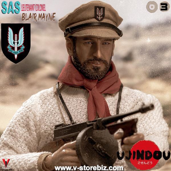 Ujindou UD9003 WWII British SAS Lieutenant Colonel Blair Mayne