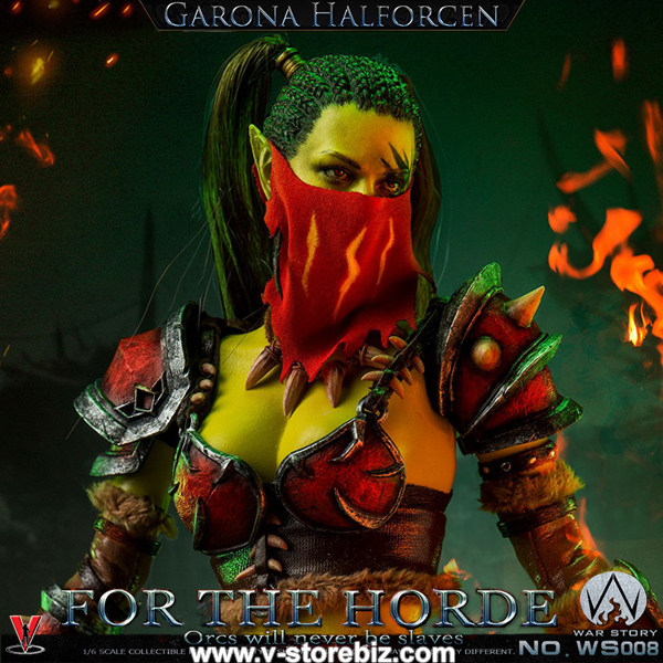 War Story WS008 Female Orc Assassin