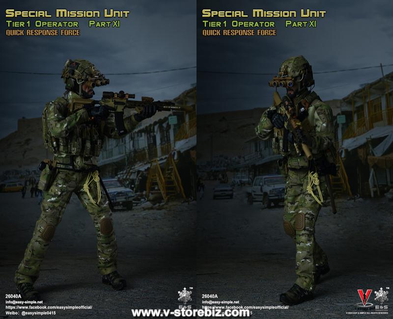 E&S 26040A SMU Tier 1 Operator Part XI Quick Response Force