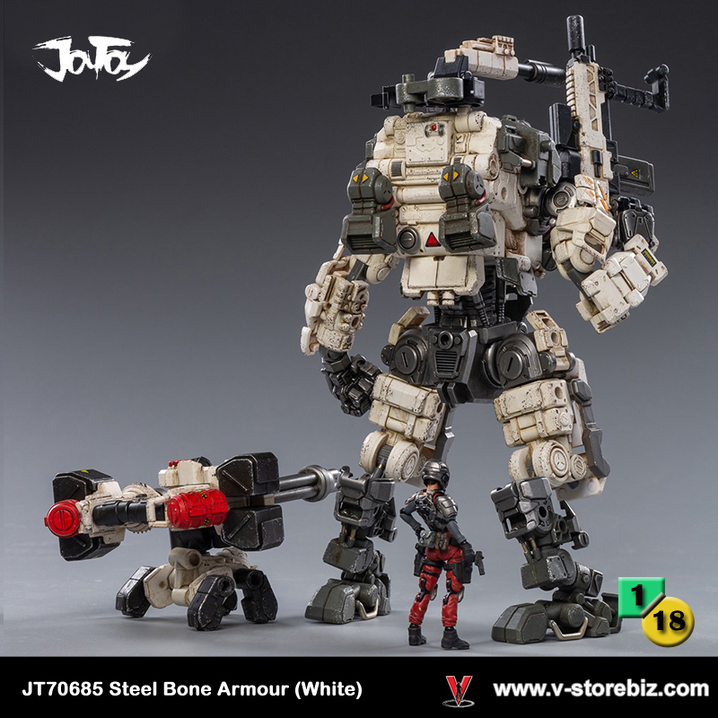 JOYTOY JT70685 Steel Bone Armour (White)