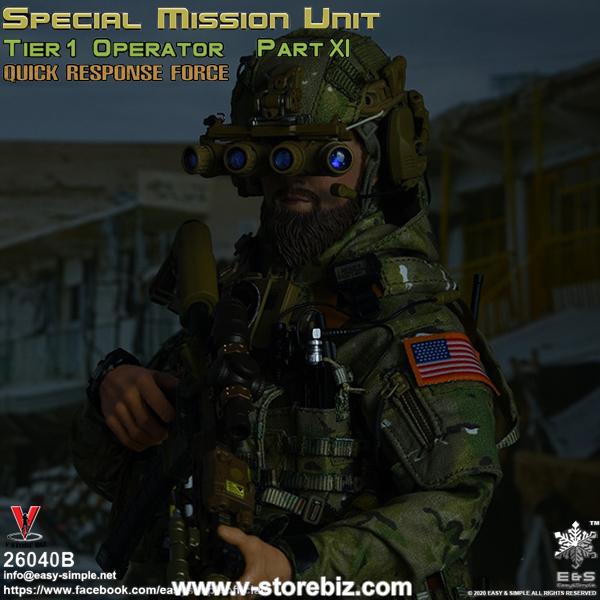 E&S 26040B SMU Tier 1 Operator Part XI Quick Response Force
