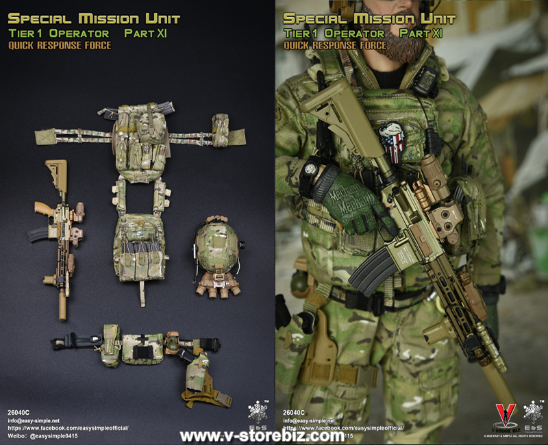 Easy&Simple 26040C SMU Tier 1 Operator Part XI Quick Response Force