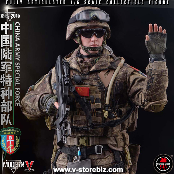 """Soldier Story SS119 PLA Army Special Force """"Falcon 2015"""""""