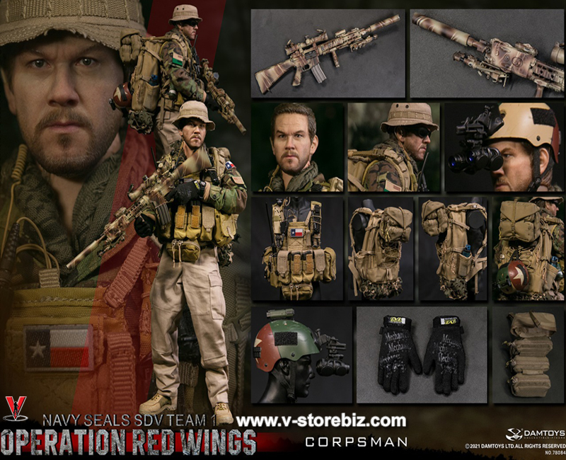 DAMTOYS 78084 Operation Red Wings SEAL SDV Team 1 Corpsman