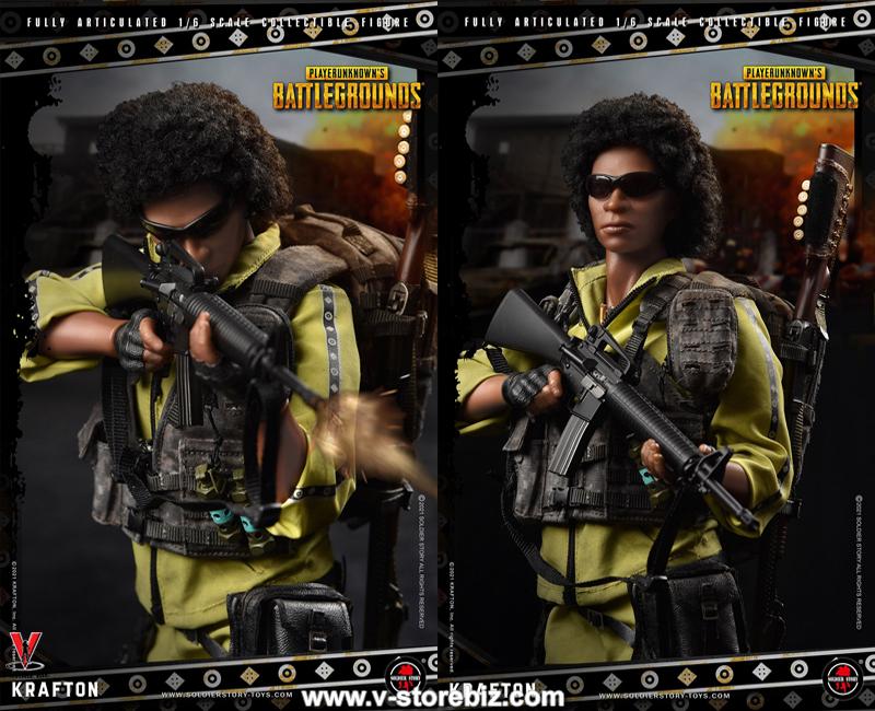 Soldier Story SSG-003 Player Unknown's Battlegrounds - Yellow Sportswear