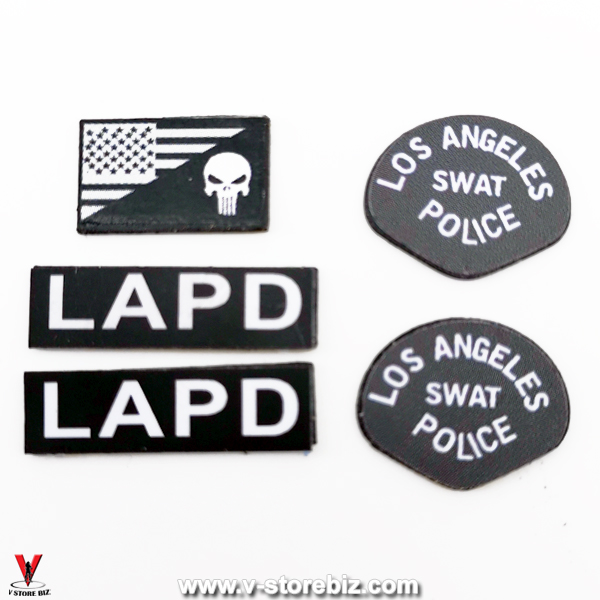Mini Times M024 SWAT Officer Patches