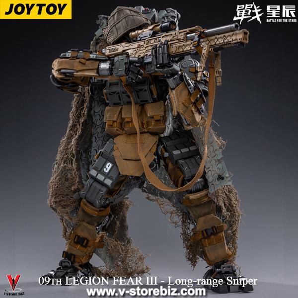 JOYTOY 09th LEGION FEAR IV Mecha Long Range Sniper w/ Pilot