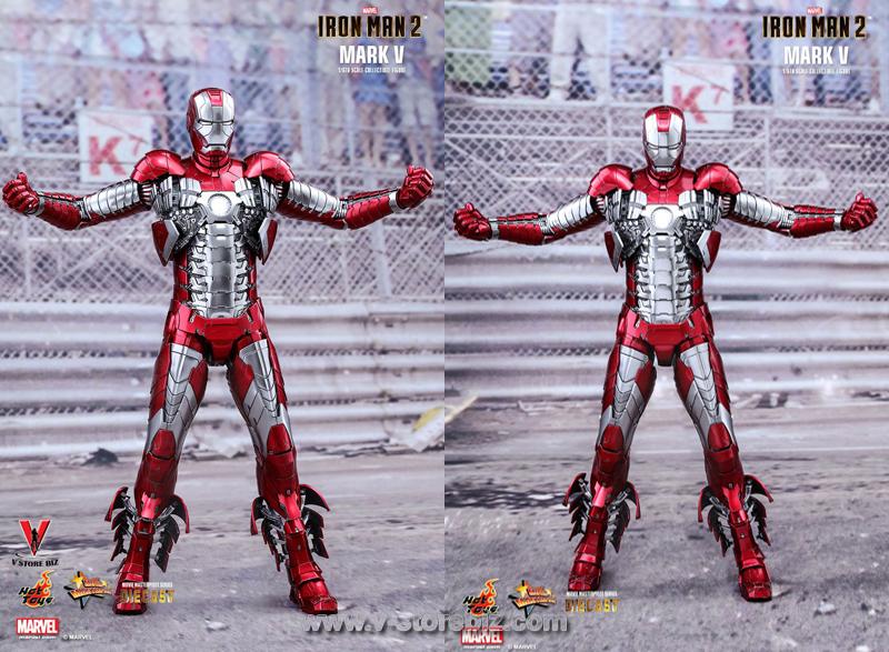 Hot Toys MMS400D18 Iron Man 2 Mark V (Diecast)