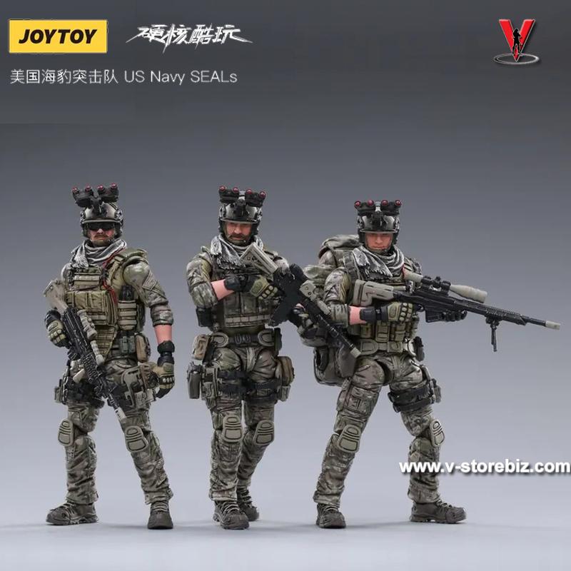 JOYTOY US Navy SEALS ( Set of 3)