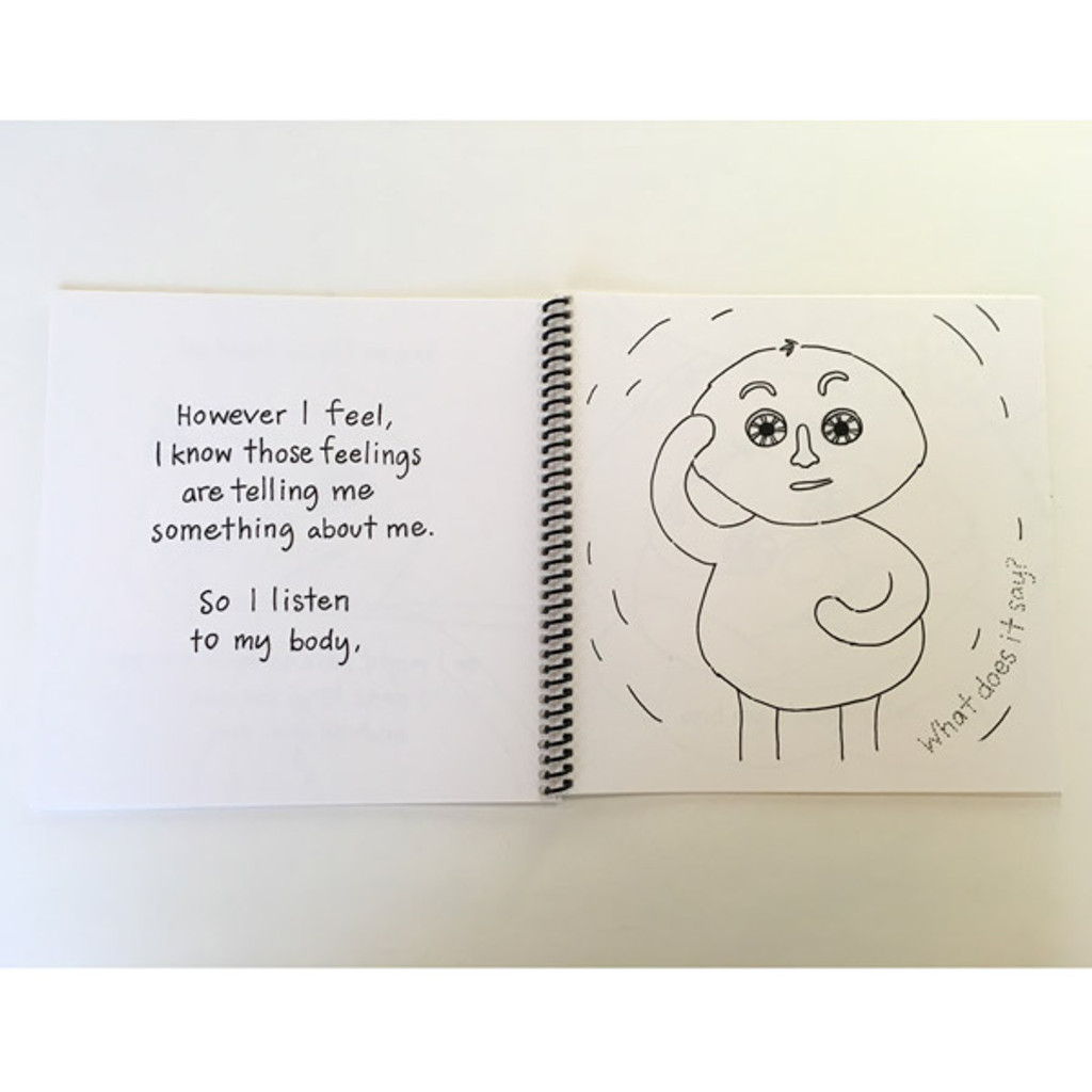 """Meebie has Feelings"" Spiral Bound Preview Edition"