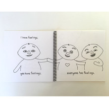 """""""Meebie has Feelings"""" Spiral Bound Preview Edition"""