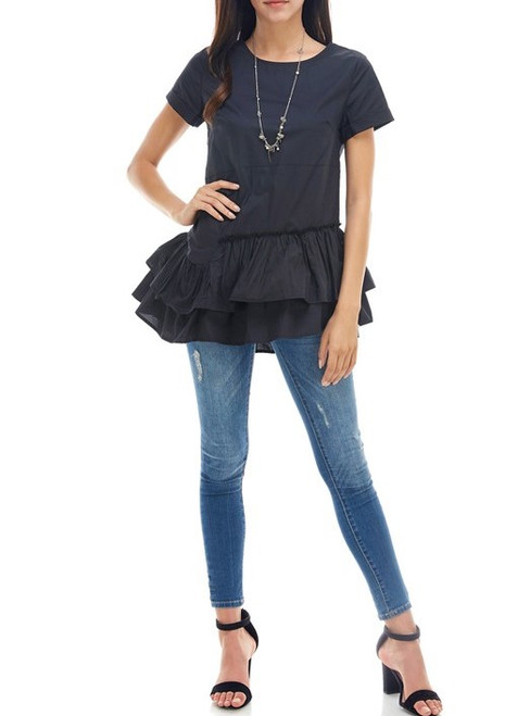 Ellis Ruffle Top