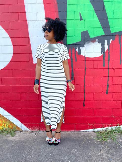 Tesssa Striped Midi Dress (SOLD OUT)