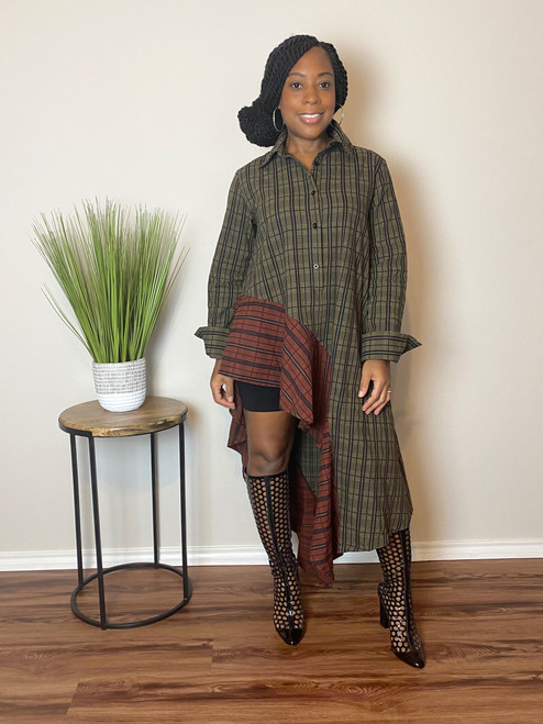 Maya Plaid Tunic
