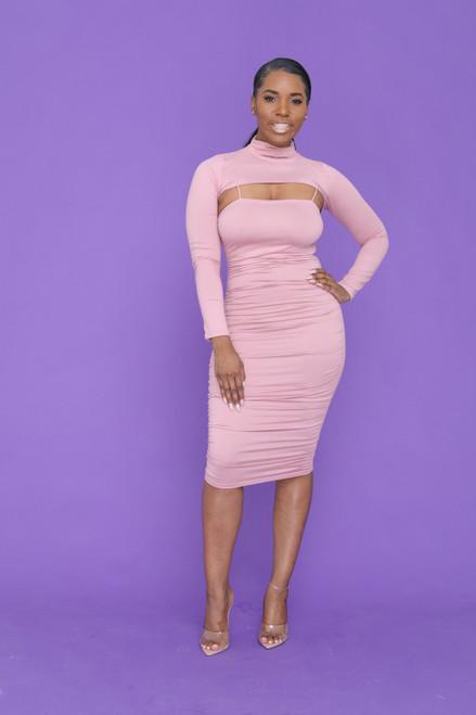 Mia Dress-Pink