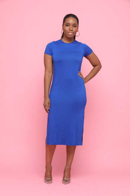 Skylar Dress-Blue