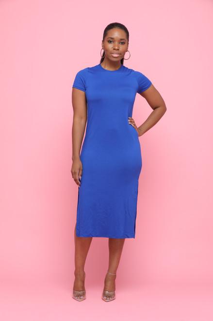 Skylar Dress-Blue
