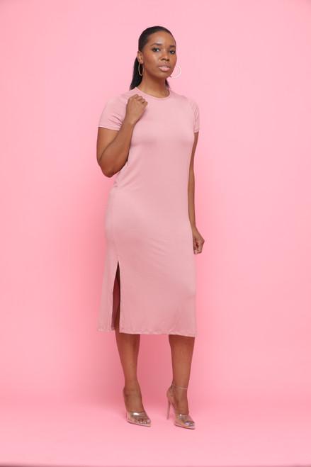 Skylar Dress-Pink