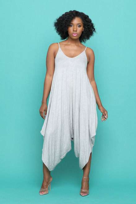 Holly Jumpsuit-Grey