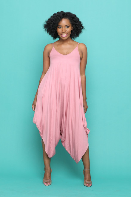 Holly Jumpsuit-Pink