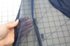 NAVY MESH NETTING FABRIC