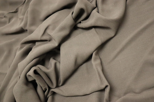 BROWN STRETCH SUITING FABRIC