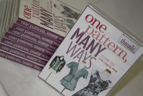 Combo Pack: One Pattern, Many Ways Vol 1. DVD + Simplicity Pattern 1883 SIZE 16-24