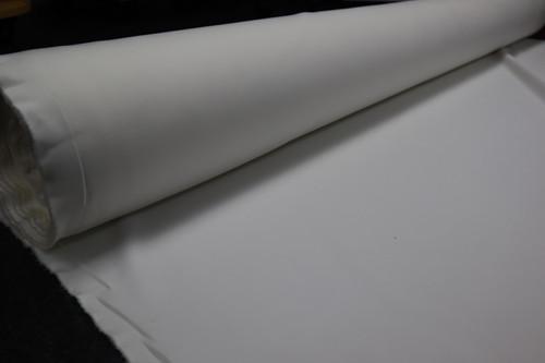 OFF WHITE SCUBA KNIT POLY / LYCRA FABRIC