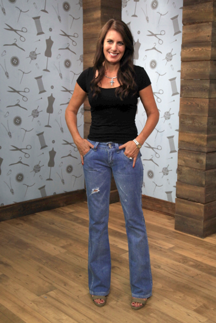 The Angel Bootcut Jean Pattern # AW4200 | Angela Wolf Pattern Collection