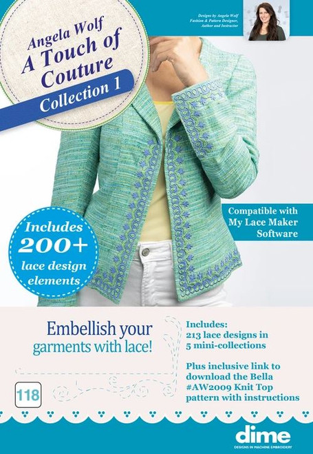 A Touch of Couture | Embroidery Collection 2 - Digital Download