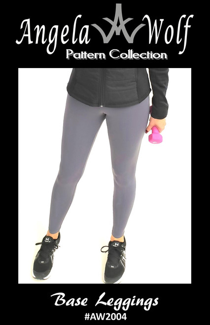 Base Leggings  #AW2004 - PDF PATTERN + ONLINE COURSE