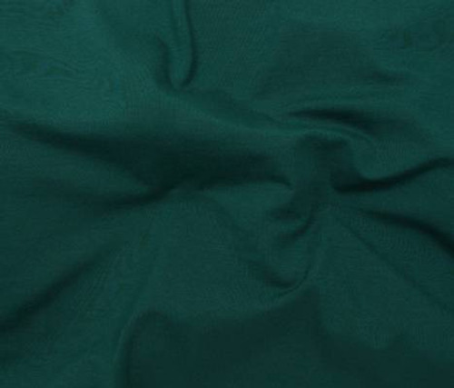 DARK GREEN SOFTIQUE RAYON VISCOSE KNIT FABRIC - SOLD BY THE YARD
