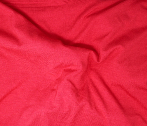 CORAL SOFTIQUE RAYON VISCOSE KNIT FABRIC - SOLD BY THE YARD