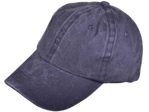 Navy Low Profile Unstructured Pigment Dyed Hat