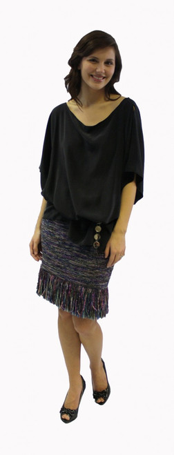 The Fringe Skirt #AW3106 - PAPER PATTERN