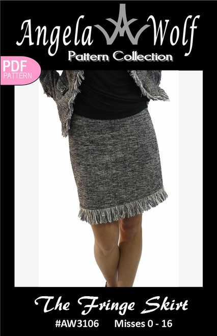 Fringe Skirt | Angela Wolf Patterns